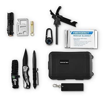 Kit de supervivencia 11 en 1-survival herramientas - Navaja ...