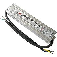 YAYZA! 1-Paquete Controlador de LED Compacto Ultra-Fino A Prueba de Agua IP67 24V 1.25A 30W de Bajo Voltaje Módulo…
