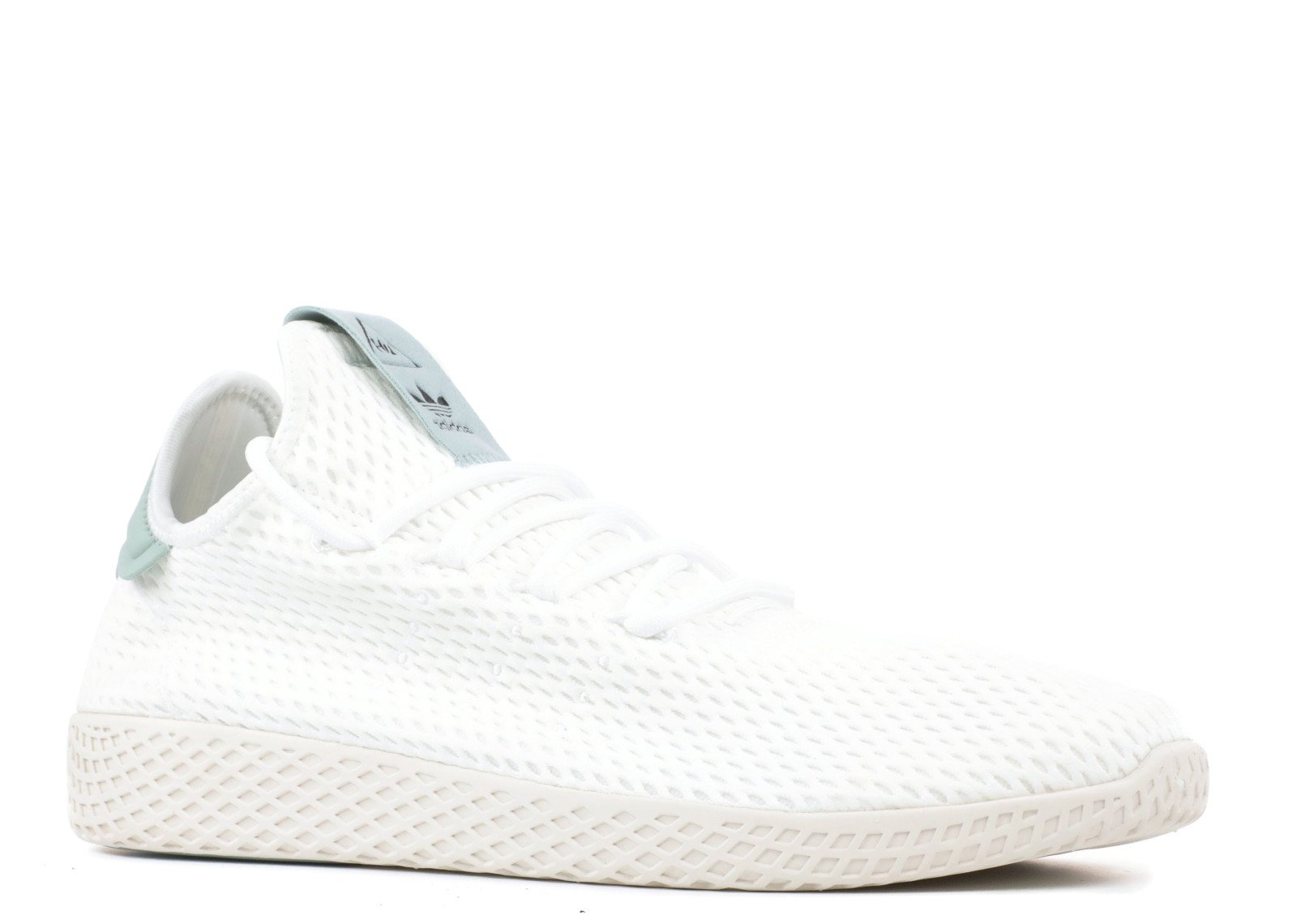 2d1d184d4 Galleon - Adidas Originals Men s Pharrell Williams Human Race  White White Green 8 D US