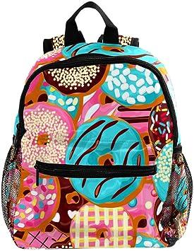MUOOUM Art Ceramic Colorful Bowl Kids Backpack Pre-School Toddler Bag Travel Daypack