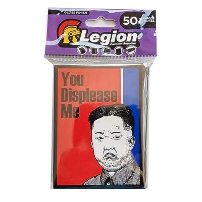 Legion Supplies Grumpy Kim Art Sleeves (50): Toys & Games
