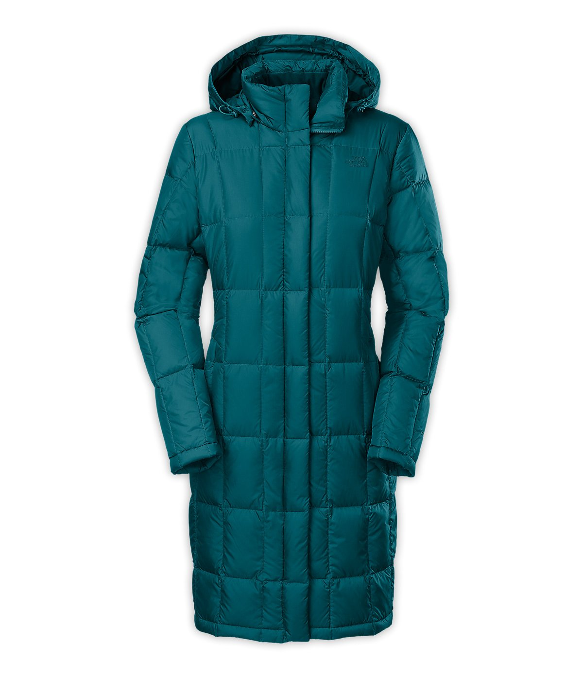 The North Face Women's Metropolis Parka Juniper Teal X-Large