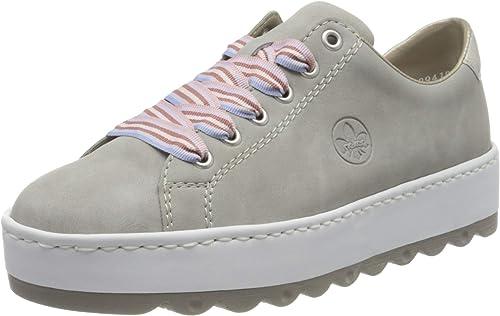 Rieker Damen Sneaker grau N4603 40