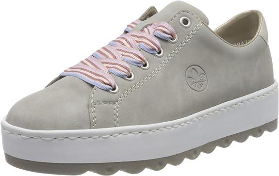 Rieker Damen FrühjahrSommer N4603 Sneaker: hATom