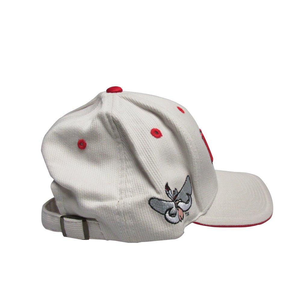 RobsTees University Of Nevada LAS Vegas UNLV Cream College Team Strap Back Dad Hat Cap