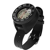 Tonysa Touch kompas met armbandhouder, waterdicht kompas, draagbaar, professioneel duikkompas voor onderwaterholtes…