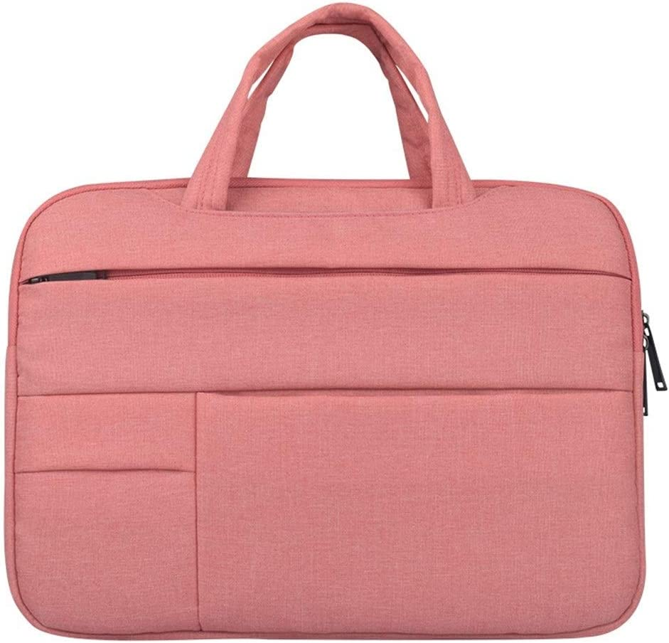 Color : Pink, Size : 14inch Hemengjuan Laptop Sleeve Case Bag for MacBook Air 11 Air 13 Pro 13 Pro 15 New Retina 12 13 15 Notebook Handbag,11.6 12 13.3 14 15 15.6 Inch