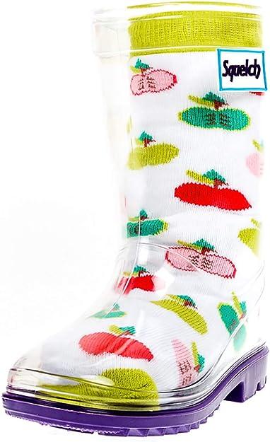Gummistiefel Kinder Baby Wasserdichte Schneestiefel Futter Socken