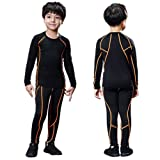 Rdruko Kids Compression Workout Set Soccer Practice
