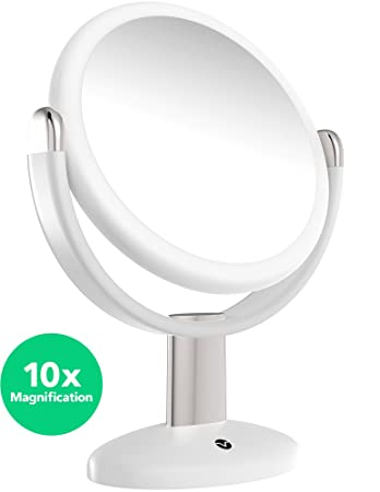 Amazon Vremi 10x Magnified Vanity Mirror