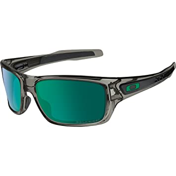 50124b0dca Lunettes de Soleil Oakley Grey Smoke / Jade Iridium Polarized ...