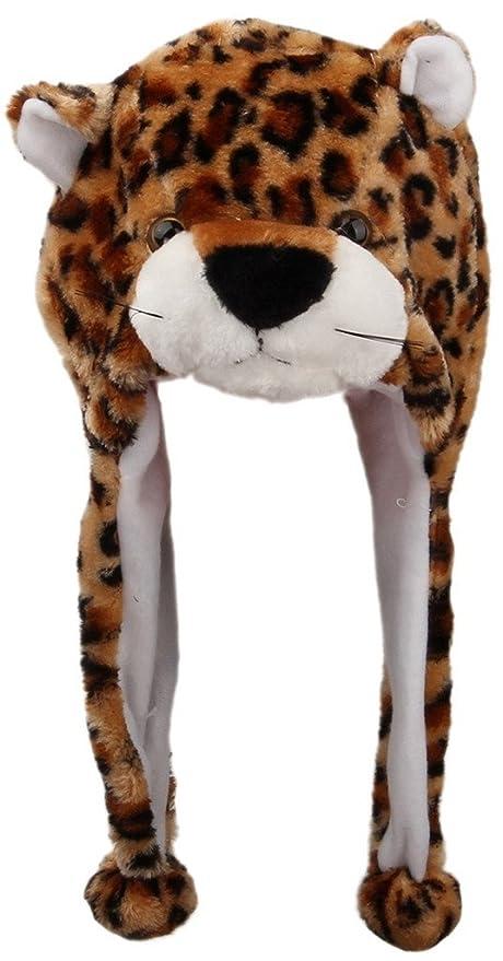 f20f9468772c4 V-SOL Sombrero Gorro Disfraz Cosplay De Animal Adulto Niños Felpa Cubierta  De Oreja Orejera