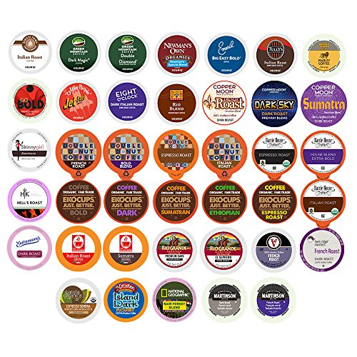 kcup dark roast variety pack - 2