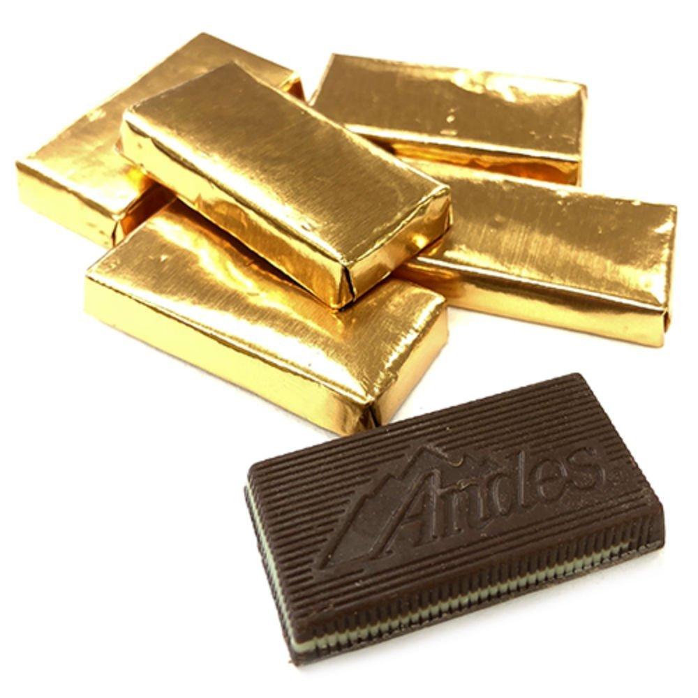 Andes Mints, Gold Foil Creme De Menthe Thins - 3 LB Bulk Bag by All City Candy