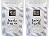 bread baking mix - Gluten Free Sandwich Bread Mix - Easy Bake, Grain-Free, Dairy-Free, Paleo Friendly Baking Mix by Other Foods 2 Pack