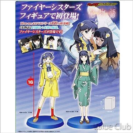 Bakemonogatari Fire Sisters figure set of 2