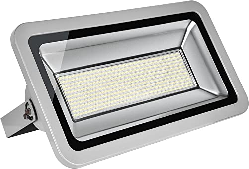 Coolkun 10 20 30 50 100 150 200 300 500W LED Flood Lights,Super Bright Work Lights, Outdoor and Indoor IP65 Waterproof Security Light for Garage, Garden, Lawn and Yard 500W Daylight White