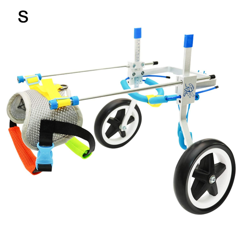 Silla de ruedas ajustable para perros-Pequeño