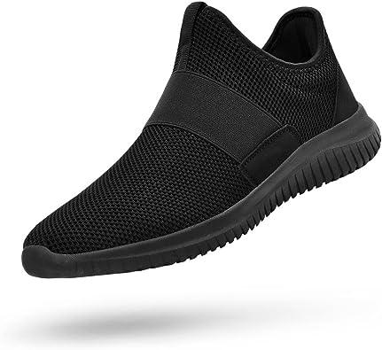 Feetmat Mens Tennis Shoes Slip On