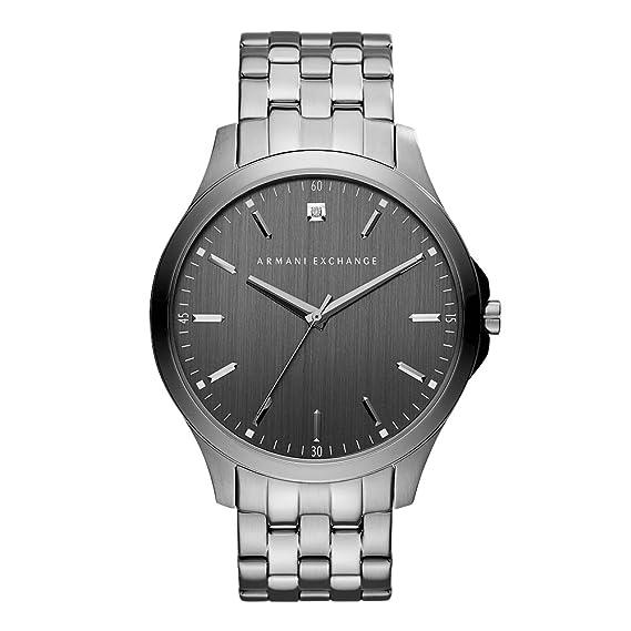 e29b223ce96a Emporio Armani AX2169 Gunmetal Watch for Men  Armani Exchange ...