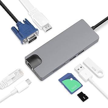 Adaptador USB Tipo C par 2018 Air Retina 13,USB C port con ...