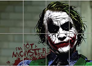 Doppelganger33LTD Batman Joker IM NOT A Monster Cult Classic Movie Film Comic Book Giant Wall Poster Art Print B1062