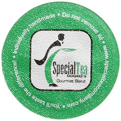 Special Tea Buddhas Meditation Herbal Tea Single Serve Cups, 30 Gram