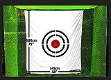 Galileo Golf net target 5'x6'/Training Aid Driving Range Target| Target Backstop (Circle)