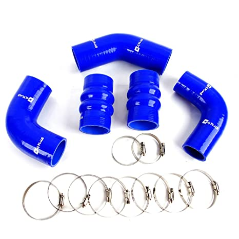 Amazon.com: Gplus Silicone Intercooler Pipe Hose Kit For Ford Focus 1.8 TDDi individual blue: Automotive