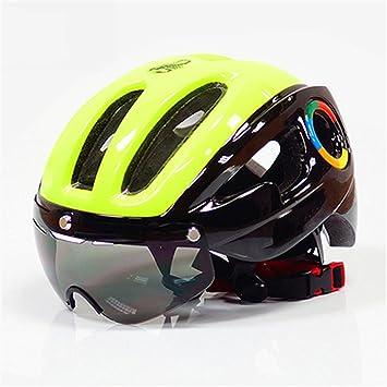 MOLDERY 270G Ultraligero Eps Bicicleta Casco para Hombres Carretera MTB Mountain Bike Lentes Gafas Equipo de