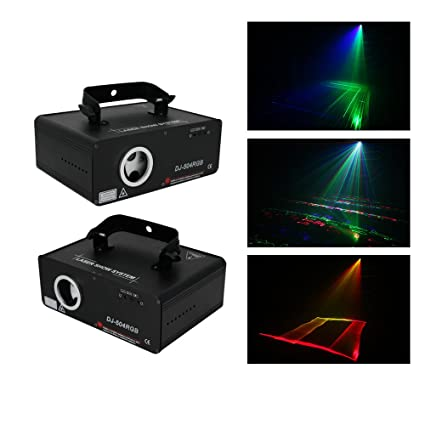 Amazon.com: Sumger 5-IN-1 RGB Animaion LED Proyector Láser ...