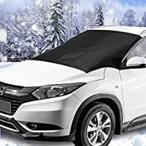 Windshield Snow & Ice Cover, Waterproof, Sun Protection for All Cars, Trucks, SUVs, MPVs, with Magnetic (47 × 82)