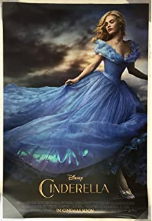 "022 Cinderella 2015 Romantic Fantasy Film Movie 24/""x36/"" Poster"