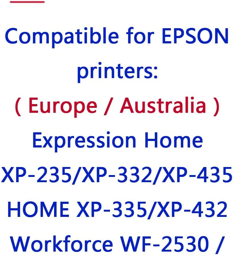 ouguan COMPATIBLES con Epson 29 X L 29 para Epson Expression Home ...