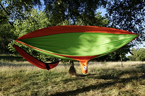 Eagle Outdoor Portable Lightweight Nylon Hammock Ideal For Camping Adventure Or Travel