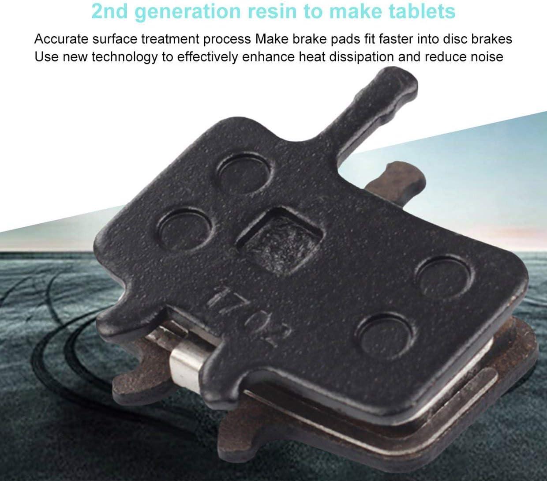 P196BP MXECO Pastillas de Freno de Disco de Bicicleta de Resina Sram Avid MTB Pastilla de Freno hidr/áulico semimet/álica 1 par