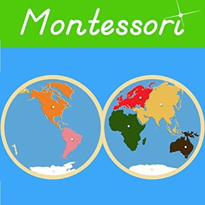 Montessori Continents & Oceans - A Montessori Approach to Geography