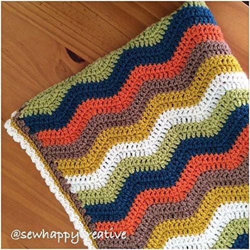 Amazon Handmade Crochet Baby Blanketcotpramcribbaby Buggy