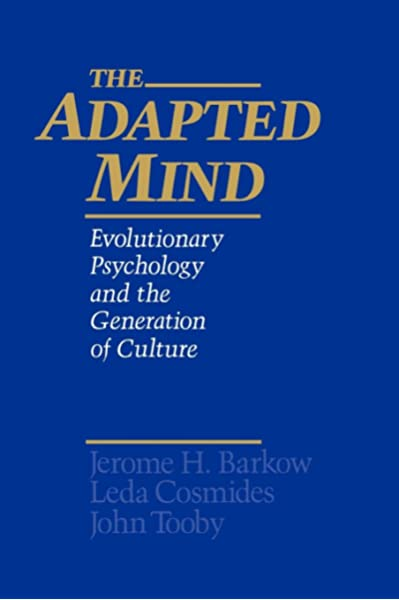 The Adapted Mind: Evolutionary Psychology and the Generation of Culture:  9780195101072: Medicine & Health Science Books @ Amazon.com