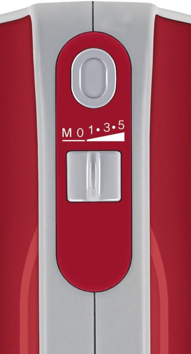 Bosch MFQ40303GB Hand Mixer, 500 W - 1 kg, Red Red/White