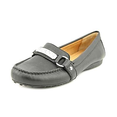 f4d03c4c224 Coach Women s Felisha Soft Leather Black Driver Loafers - Size 5.5