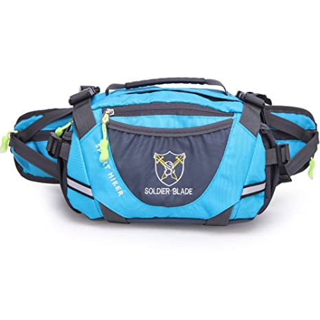 5b8c5767ac51 LinYin Waterproof Pouch Sport Running Large Capacity Waist Bag Fanny Pack  for Men Women Travelling Cycling Hiking Camping