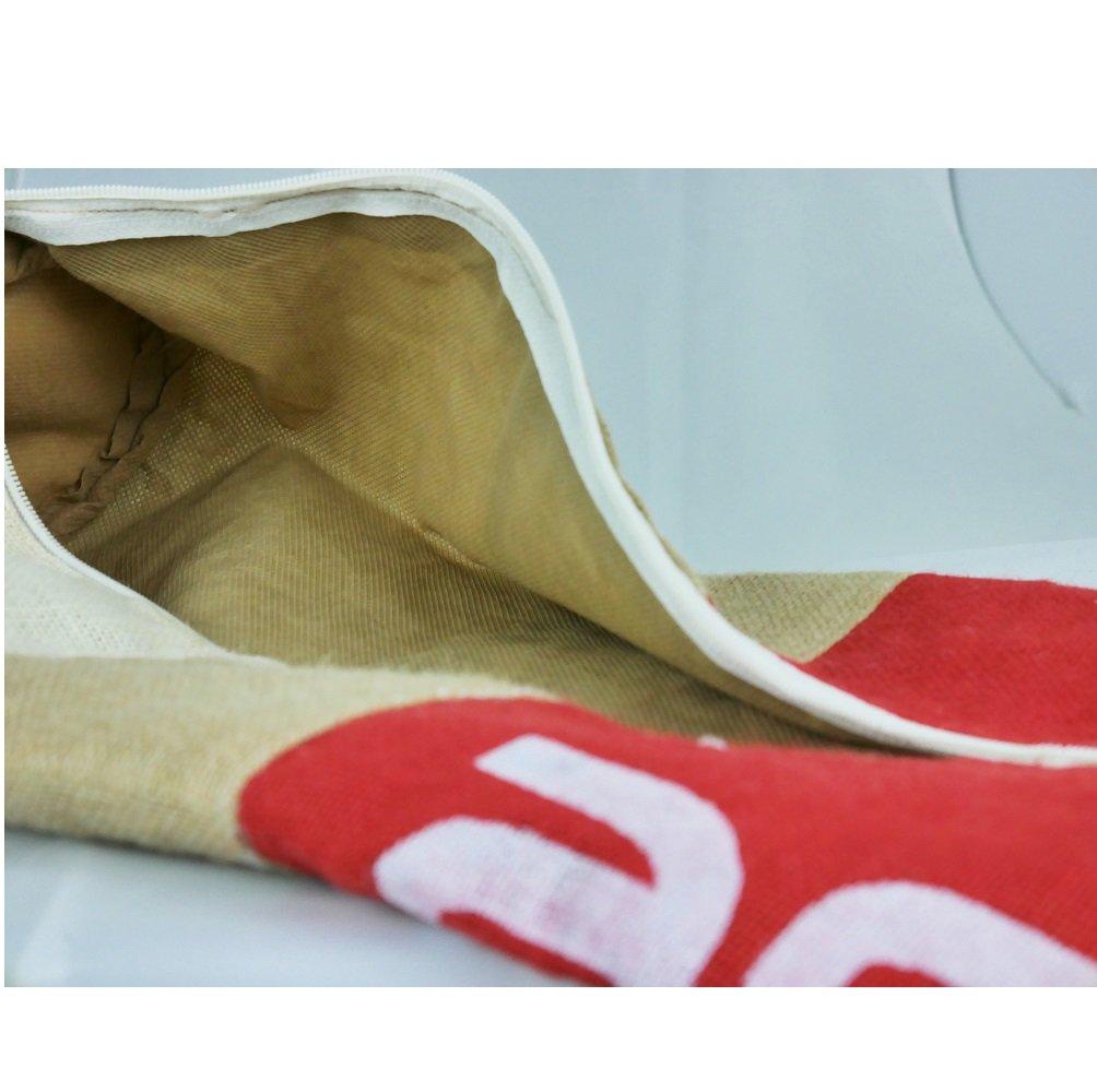 Yoga mat bag tote made of burlap eco-friendly and bio-degradable Asana