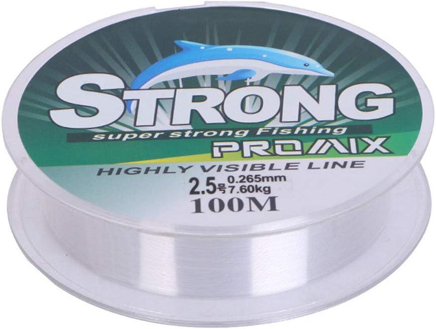 0,1 mm bis 0,6 mm transparent extra stark Leezo Angelschnur aus Nylon