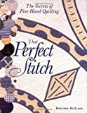 That Perfect Stitch