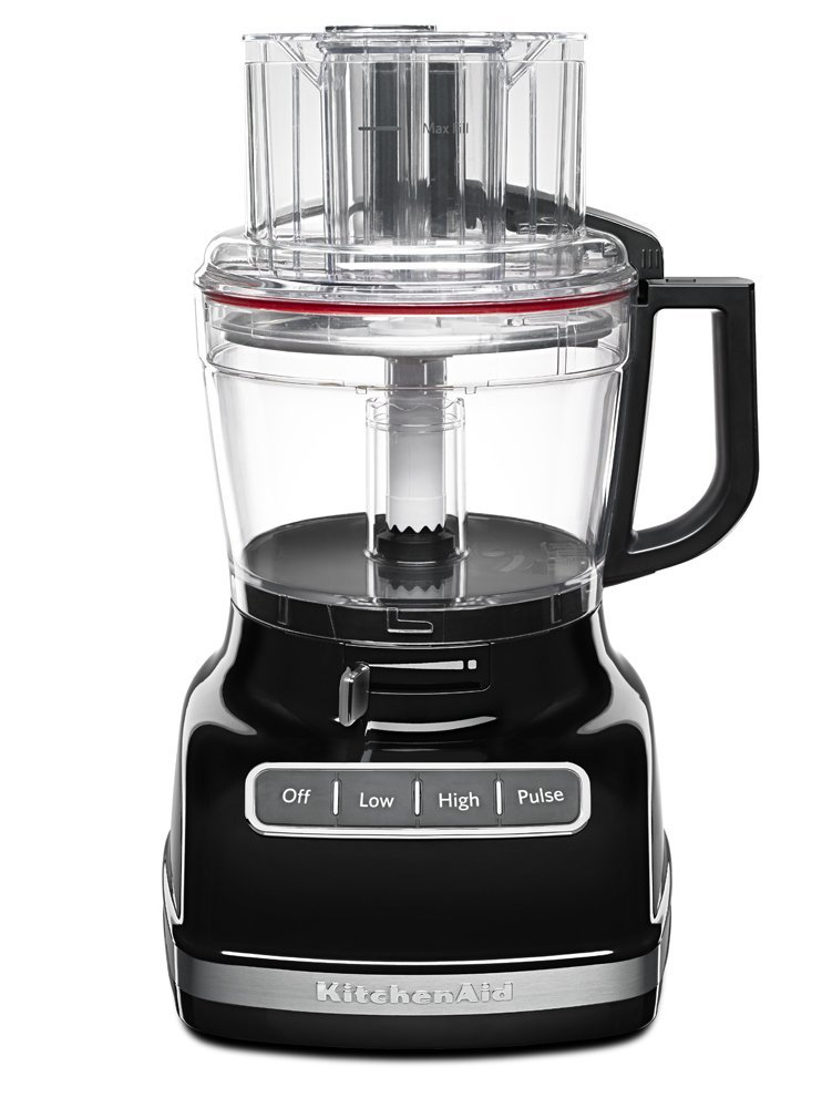 KitchenAid KFP1133OB 11-Cup Food Processor with Exact Slice System - Onyx Black (Certified Refurbished)