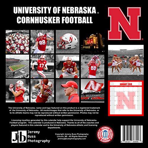 Buss Photography 2019 Nebraska Football Wall Calendar ()