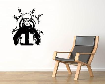 amazon com uzumaki naruto vinyl wall decals ninja konoha printing