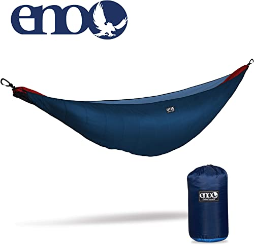 ENO – Eagles Nest Outfitters Ember Hammock UnderQuilt, Lightweight Sleeping Quilt for Cold Weather Camping