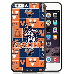 Lovely And Popular Designed Case For iPhone 6 Plus 5.5 Inch TPU With NCAA Atlantic Coast Conference ACC Footballl Virginia Cavaliers 2 Phone Case